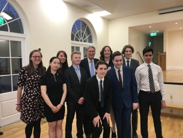 Brentwood's Young Conservatives with Rt. Hon Philip Hammond MP,  Chancellor of the Exchequer